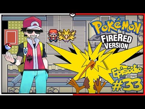 Pokémon Fire Red Let's Play #33: Capturando o Zapdos no Power Plant