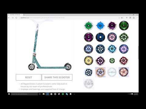 Custom Scooter Builds #1