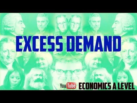 Excess Demand - Economic Demand - Demand
