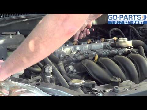Replace 2003-2008 Toyota Corolla Ignition Coil, How to Change Install 2004 2005 2006 2007