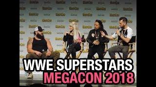 WWE SUPERSTARS - BRAUN STROWMAN, ALEXA BLISS & SHINSUKE NAKAMURA MegaCon 2018!
