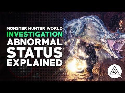 Monster Hunter World | Status Explained - Paralysis, Poison, Sleep & Blast