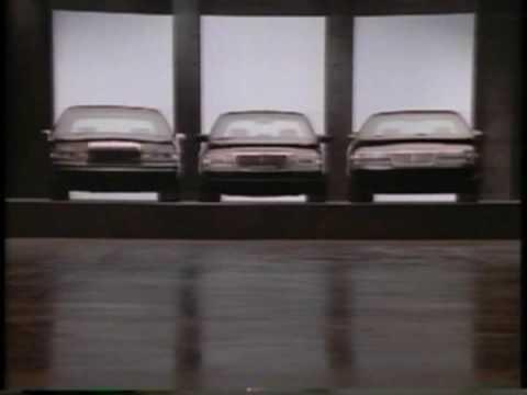 Lincoln Mark VIII Luxur Car Commercial NBC 1993