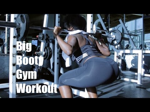 Big Butt Gym Workout | BKBooty
