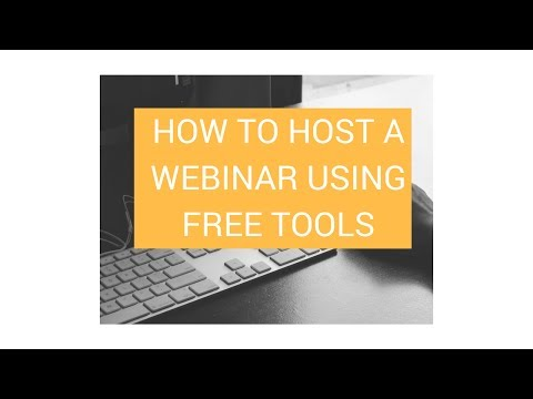 How to Host A Webinar Using Squarespace and Free Tools