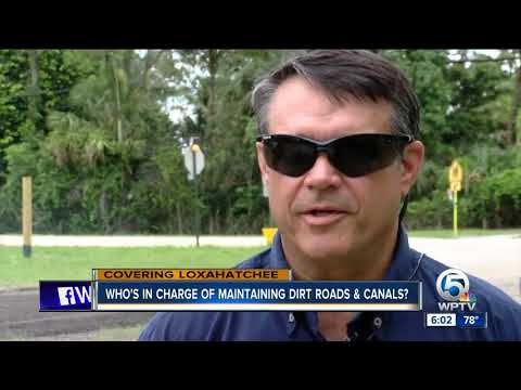 Who's in charge of maintaining dirt roads and canals?