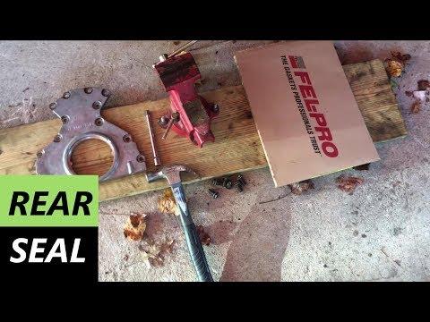 Rear Main Seal install - LS1 240sx (S14) Drift Build (EP 13)