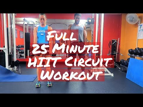 Full workout - HIIT Circuit work out - 25 minute Fat Burning Workout