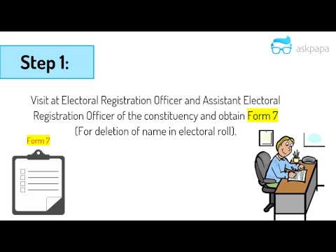 How to Register your Vote at new Address (Shortest Video)