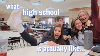 a day in my high school