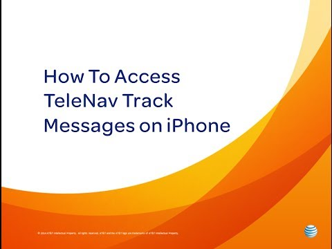 TeleNav Track Messages on iPhone: AT&T How To Videos