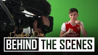 Transfer Deadline Day Special | Tierney & David Luiz sign for Arsenal | Behind the scenes