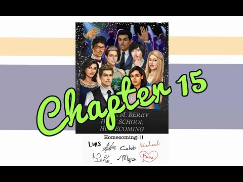 (Diamonds) Choices: High School Story Book 1 Ch 15 (CALEB'S ROUTE!!)