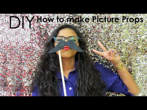 DIY  How to make Picture Props
