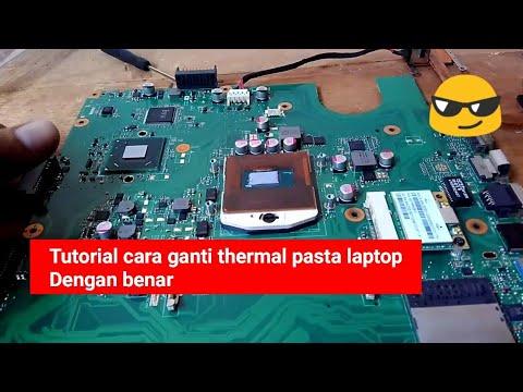 Cara mengganti thermal paste laptop dengan mudah deepcool z5