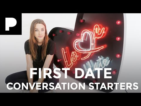 5 first date conversation starters - Love Bites with Emily Hartridge