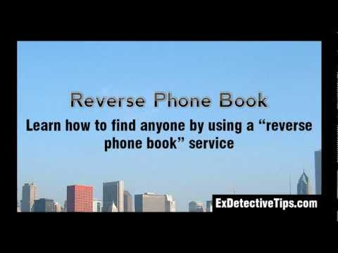 Reverse Phone Book - Find Out The Owner of Any Phone Number