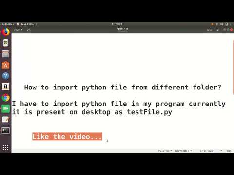 How to Import python file from any folder.