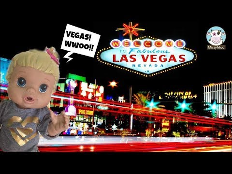 Baby Alive Bailey goes to Las Vegas
