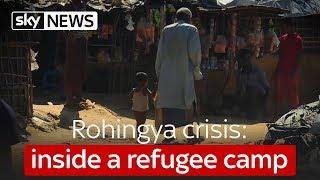 Rohingya crisis: inside a refugee camp