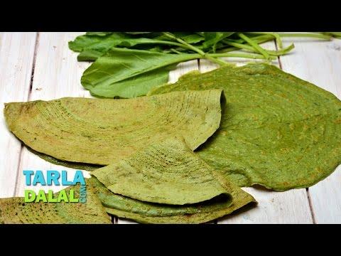 Spinach Dosa (Pregnancy Recipe), Palak Dosa by Tarla Dalal