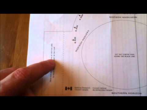 Locating Stars Using a Planisphere 1