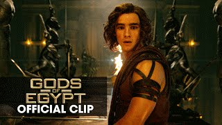 "Gods of Egypt (2016 Movie - Gerard Butler) Official Clip – ""The Eye"""