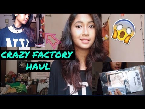 CRAZY FACTORY PIERCING // JEWELRY // HAUL