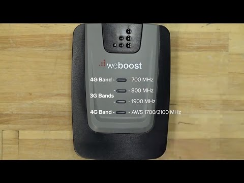 Universal Cell Phone Signal Booster to boost reception on AT&T, Verizon, T-Mobile, Sprint Networks*
