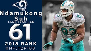 #61: Ndamukong Suh (DT, Rams) | Top 100 Players of 2018 | NFL