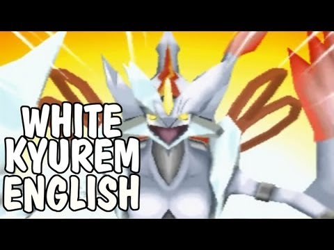Pokemon Black 2/White 2 - Kyurem Transforms into White Kyurem [English]