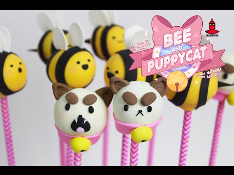 How to make Bee and Puppycat Cake Pops!