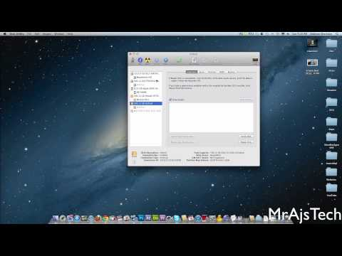 How to setup RAID on Mac 2012