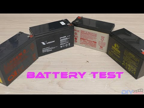 12v dc Battery Test
