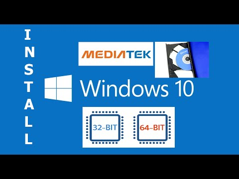 Install MTK (MediaTek Drivers) Windows 10 64 bit & 32 bit