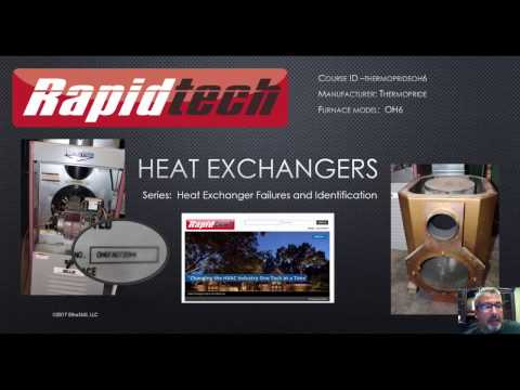 Cracked Heat Exchanger - Thermopride Oil Furnace