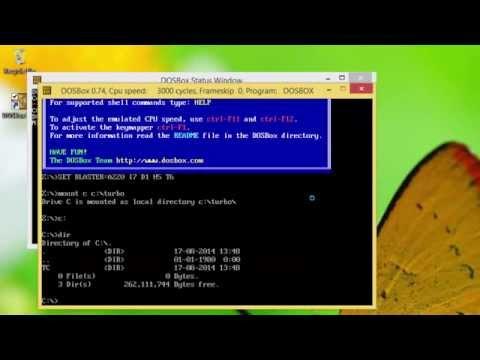 Windows 8.1 Tutorial | How To Run Dos Programs in Windows 8.1