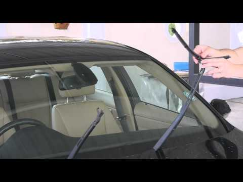 BMW e90 3 series install replace windshield wipers