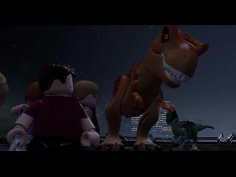 Lego Jurassic World funny ending