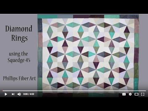 Diamond Ring Quilt Pattern by Cheryl Phillips, Phillips Fiber Art