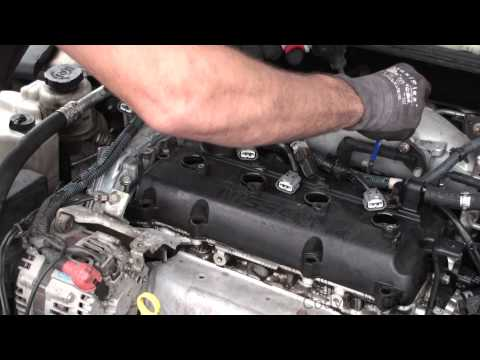Nissan Altima 2.5 valve cover gasket replacement simple and easy part1