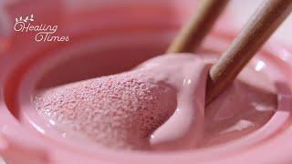 🌸핑크 덕후들 모여라!🌸화장품 핑쿠핑쿠하게 부수기! [힐링타임즈] 코덕들 맴찢 영상 6탄! | [ASMR] Destroying Cosmetic With PINK Products