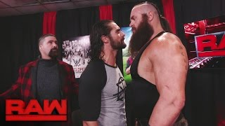 Seth Rollins stands up to Braun Strowman: Raw, Jan. 9, 2017