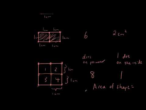 Year 12 Maths A - Use Pick's formula to find the area of shapes (part 1)
