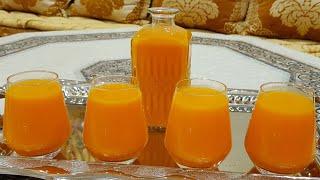 عصير سحري اقتصادي بكمية وفيرة بدون فواكه بدون برتقال وبدون حليب من ألذ واسهل مايكون /مع شهيوات امال