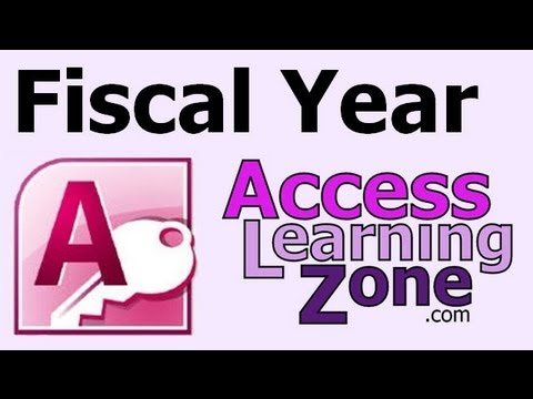 Microsoft Access Fiscal Year Calculations