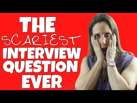 THE SCARIEST JOB INTERVIEW QUESTION EVER ASKED | Debra Wheatman
