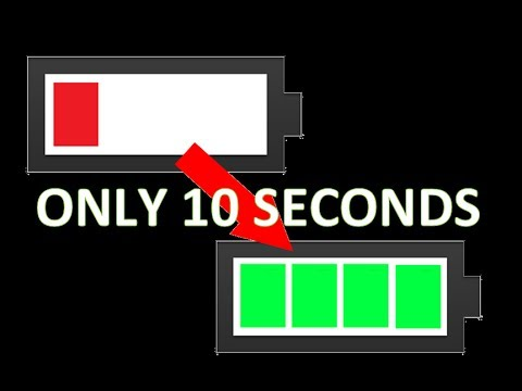 HOW TO CHARGE YOUR PHONE IN 10 SECONDS?! *LIFEHACK*