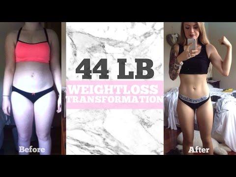 44lb Weightloss Transformation Story (20kg)