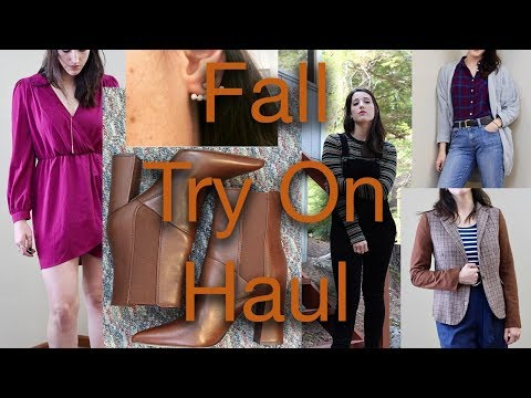 Fall Try On Haul: Forever 21, Target, DSW, and More!